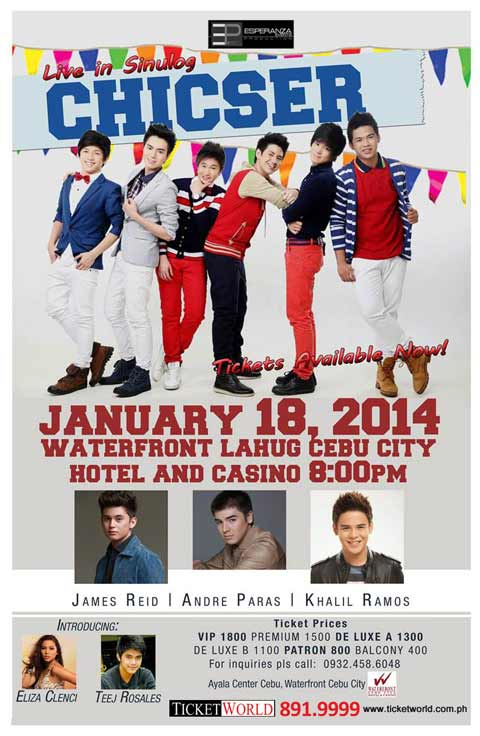 Chicser Live in Sinulog