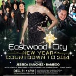 Eastwood City New Year Countdown to 2014 with Jessica Sanchez
