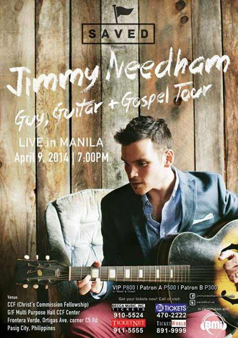 Jimmy Needham Live in Manila