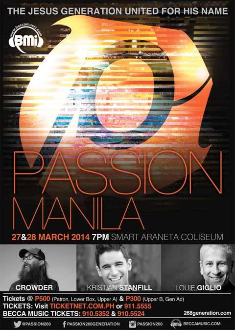 Passion Manila 2014