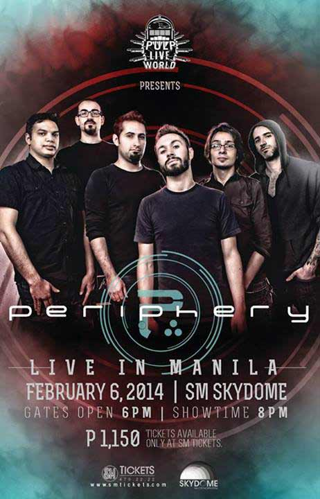 Periphery Live in Manila 2014