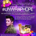 #UNWRAPHOPE Christmas@home with Bamboo