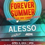 Close Up Forever Summer 2014