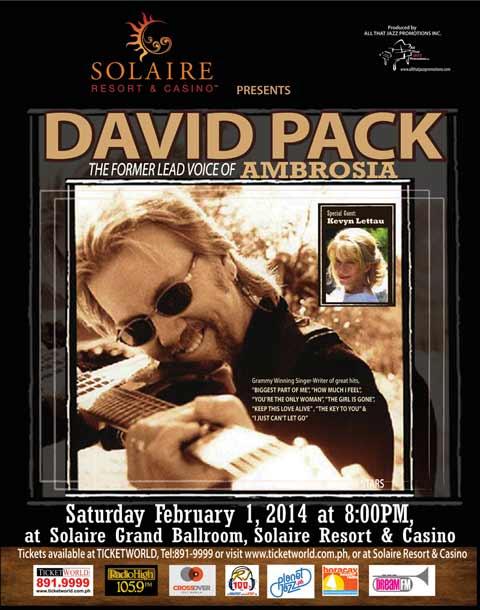 David Pack Live in Manila 2014
