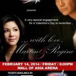 Martin & Regine Valentine's Day Concert
