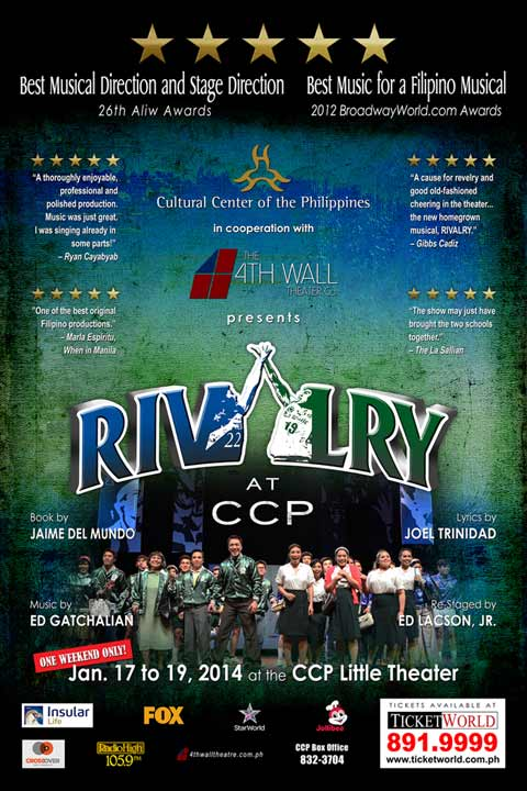 Rivalry at CCP Ateneo-La Salle Musical 2014