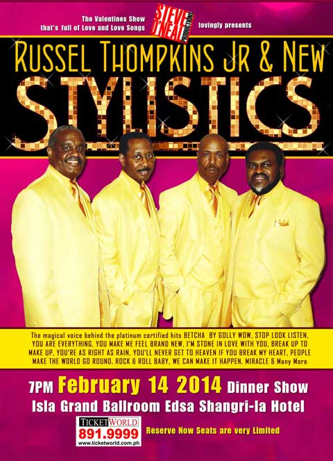 Russell Thompkins Jr. and the New Stylistics Live in Manila
