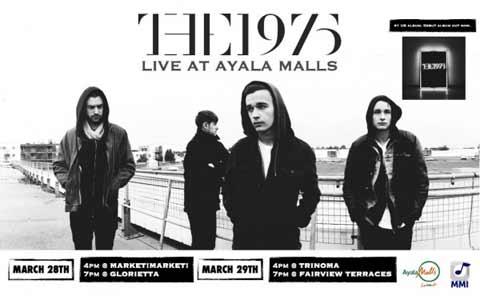 The 1975 Live at the Ayala Malls