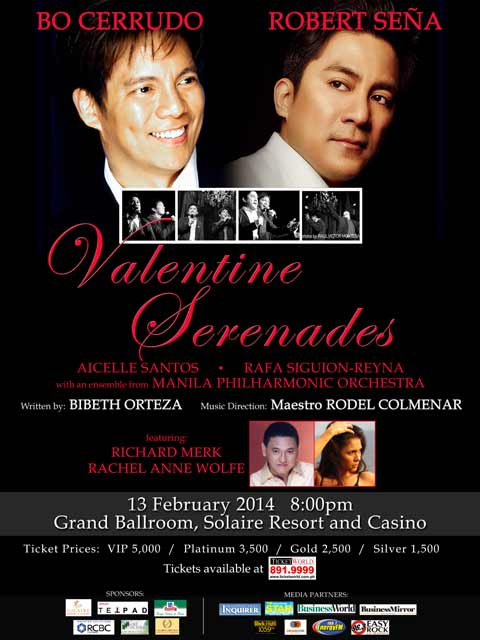 Valentine Serenades featuring Bo Cerudo and Robert Seña