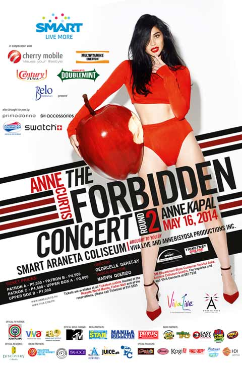 Annekapal – Anne Curtis The Forbidden Concert