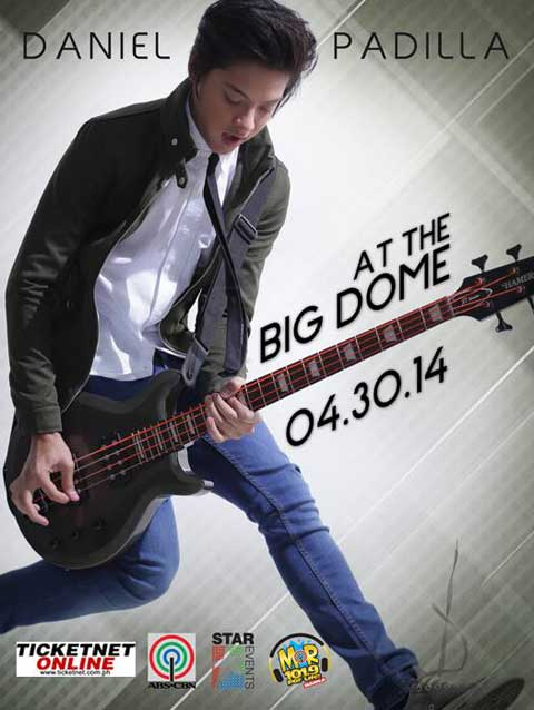 Daniel Padilla live at The Big Dome 2014