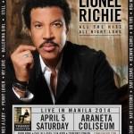 Lionel Richie Live in Manila 2014