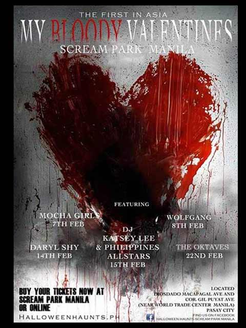 My Bloody Valentines at Halloween Haunts Scream Park Manila