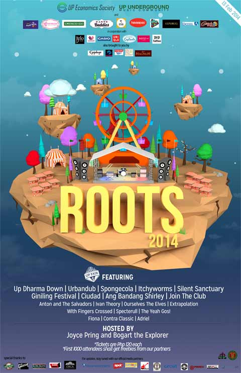 ROOTS 2014: Music Festival at the UP Fair