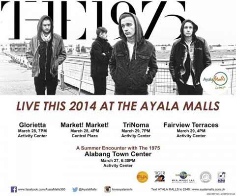 The 1975 Live at Ayala Malls 2014