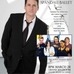 Tony Hadley Lead Singer of Spandau Ballet Live in Manila