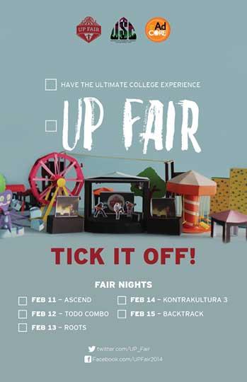 UP Fair 2014
