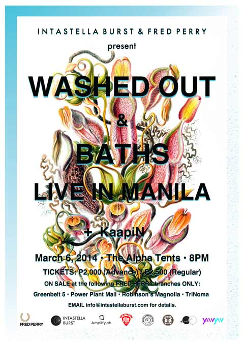 Washed Out & Baths Live in Manila