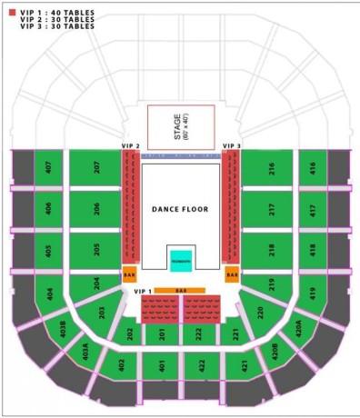Armin van Buuren Live at Mall of Asia Arena Seat Plan
