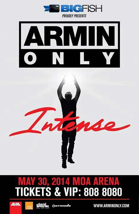 Armin van Buuren Live in Manila - Armin Only Intense