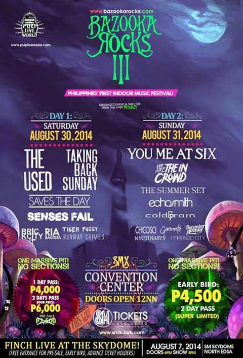 Bazooka Rocks 2 Music Festival 2014
