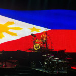 Bruno Mars Live in Manila Philippine Flag