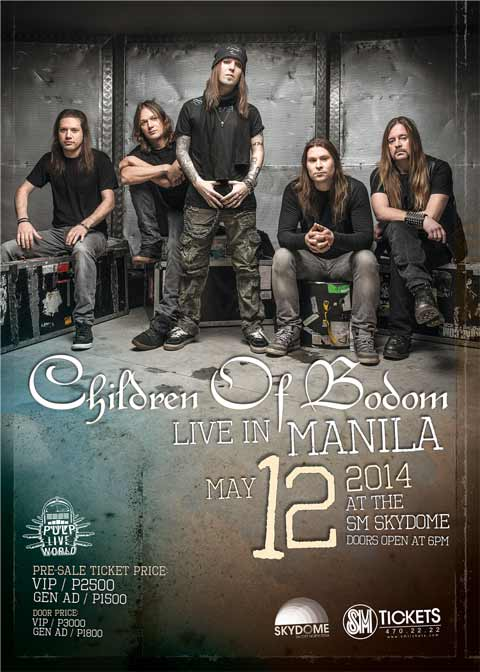 Children of Bodom Live in Manila