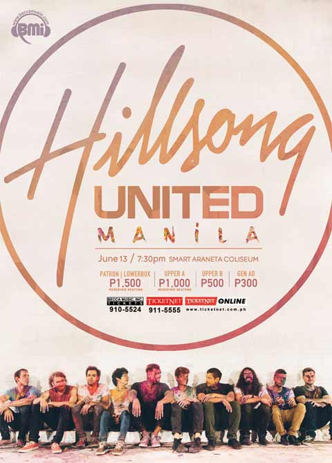 Hillsong United Live in Manila 2014