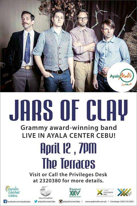 Jars of Clay Live in Cebu 2014
