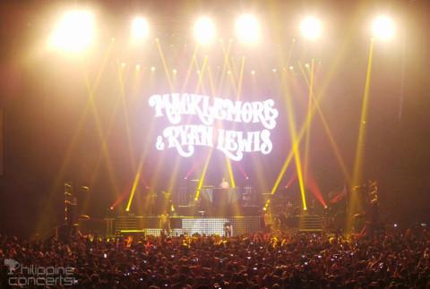 Macklemore & Ryan Lewis Live in Manila