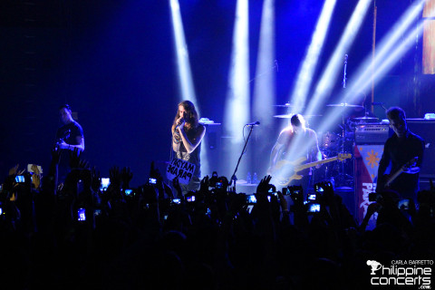 Mayday Parade Live at SM Skydome