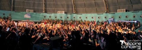 Mayday Parade Live in Manila Crowd
