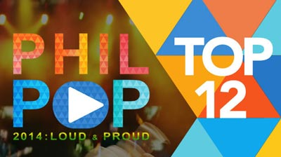 PhilPOP 2014 Top 12 Finalists