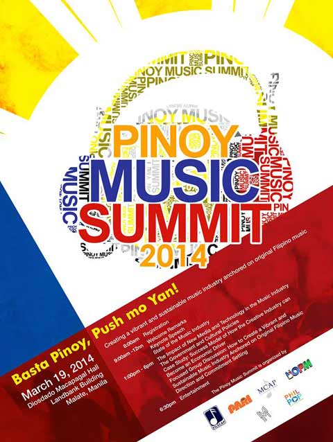 "Pinoy Music Summit 2014: ""Basta Pinoy, Push mo Yan!"""