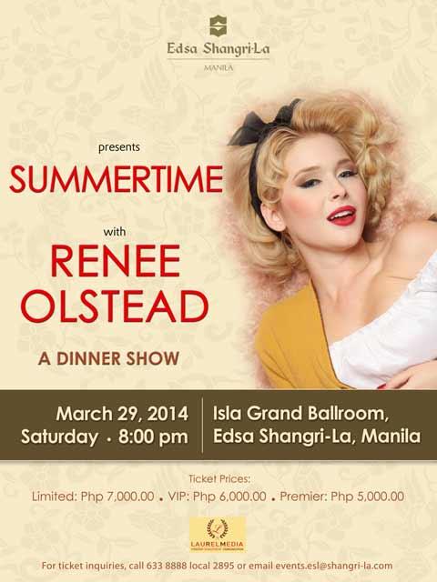 Summertime with Renee Olstead