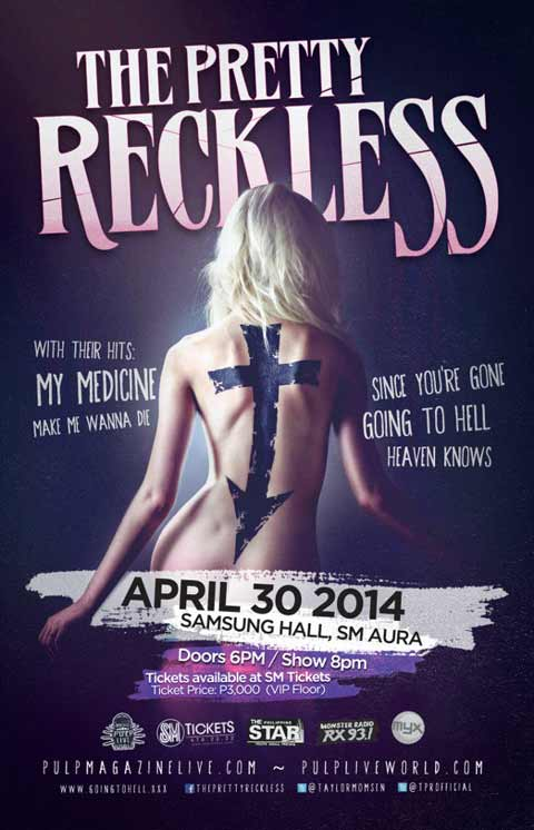 The Pretty Reckless Live in Manila 2014