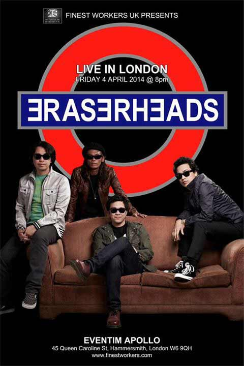 Eraserheads Live in London 2014