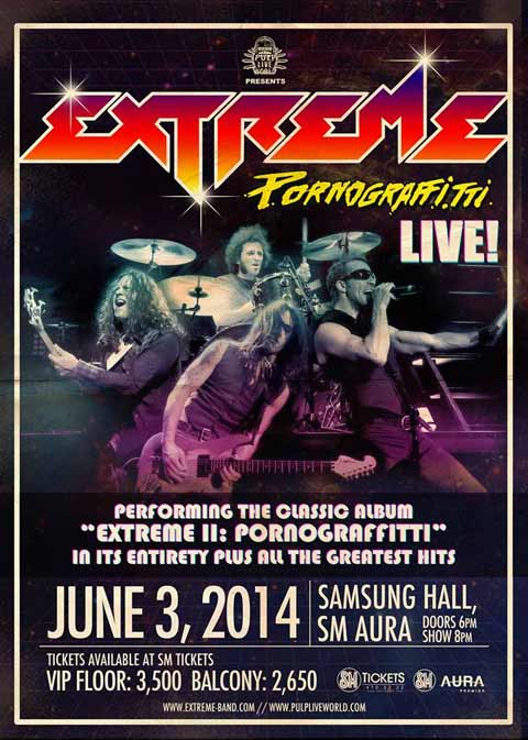 Extreme Live in Manila 2014 Samsung Hall