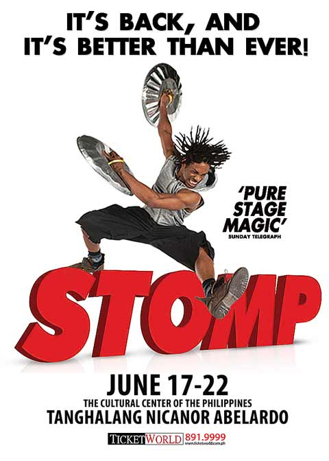 Stomp at CCP 2014