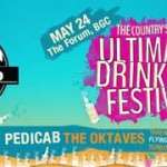 Urbandub, Pedicab and The Oktaves to perform at Drink Up Philippines
