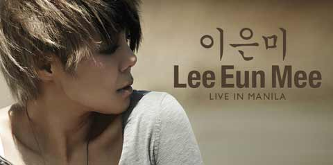 Lee Eun Mee Live in Manila on June 7, 2014