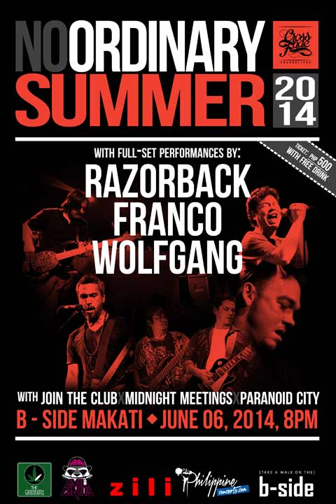 No Ordinary Summer 2014 with Razorback, Franco and Wolfgang