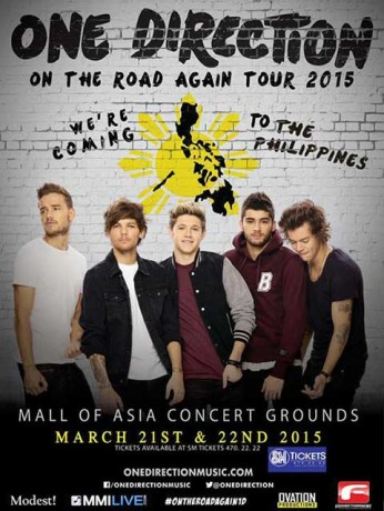 One Direction Live in Manila 2015