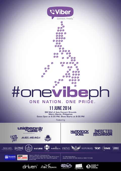 #OneVibePH: One Nation, One Pride Concert