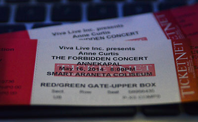 Win Tickets to watch Anne Curtis Annekapal Concert