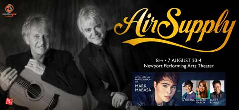 Air Supply Live at Resorts World Manila 2014