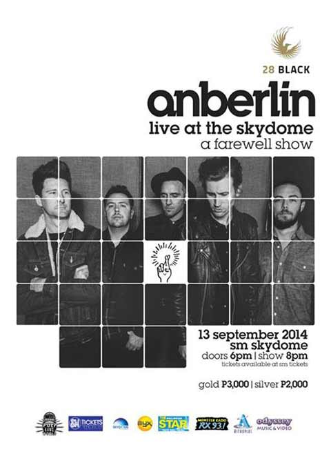 Anberlin Live in Manila Farewell Show