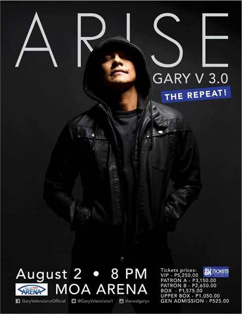 Arise Gary V The Repeat MOA Arena