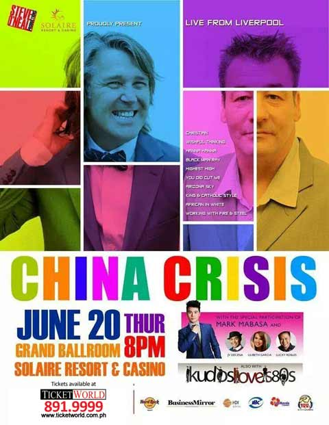 China Crisis Live at Solaire Resort