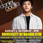 Daniel Padilla Road Tour in Baguio and Batangas